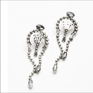 Free People Silver Moon Mesa Earrings